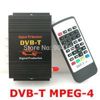 TV BOX DVB-T MPEG-4 Mobile Digital tv Tuner Receiver  channel Car PAL/NTSC radio MPEG-2 M-588x
