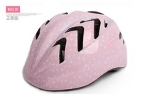 free shipping Children's Ultralight cycling helmet 2 colors Pink or Blue