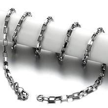 2014 new jewelry wholesale fashion jewelry necklaces & pendants women / men wide 2mm 18-inch titanium steel single chain GL325