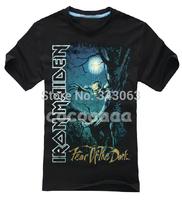 Iron Maiden 3D Brand High Quality new mma hot skull items shirt fitness Hardrock heavy Dark Metal 100%Cotton