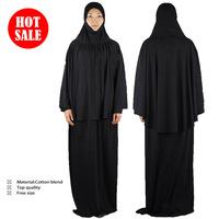Top quality Islamic Arabic women's robe,fashion muslim abaya,Conjoined hijab Robe,yimidou196+Wholesale(20pcs/lot)+free shipping