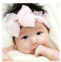 Cute bow knot children lace headband cheap 2014 new