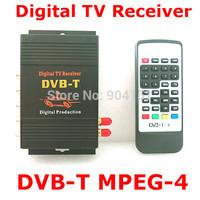 TV BOX DVB-T MPEG-4 Mobile Digital tv Tuner Receiver  channel Car PAL/NTSC radio MPEG-2 M-618
