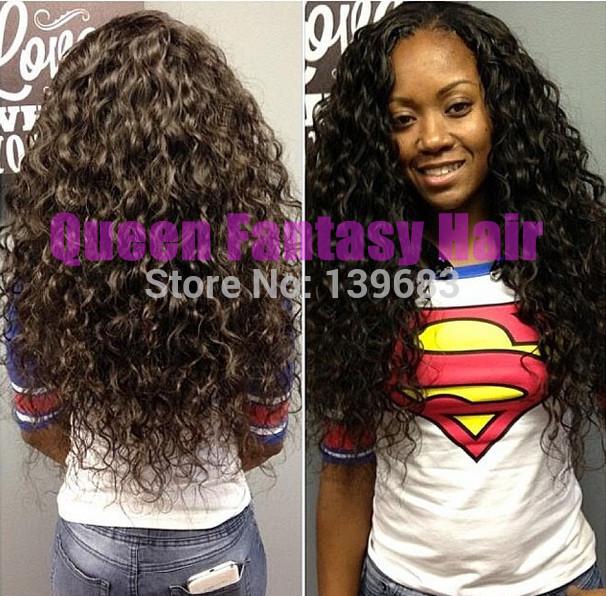 Queen Fantasy Hair 6A 20 #1b Qf-wig-740539