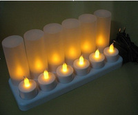 rechargeable electric candle light(set of 12)