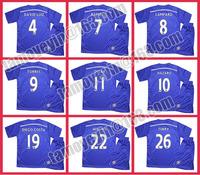 2014-15 Premier League Blue Legion Chelsea Home (T-shirt + shorts)blue soccer jersey HAZARD TORRES david luiz WILLIAN