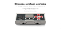 Free Shipping 1Piece 8BITDO Bluetooth Wireless Controller Classic NES30 Controller For iOS and Android Gamepad