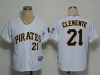 Cheap Stitched Authentic MLB Men's Jerseys Pittsburgh Pirates #21 Clemente Jersey,Baseball Jersey Free Shipping Wholesale China.