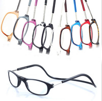 Wholesale NEW Magnetic readers Magnet reading glasses frames Magnification glasses BLACK UNISEX +150 +200 +250 +300 +350 +400