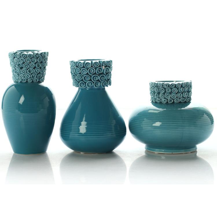 Online kopen wholesale blauw aardewerk vazen uit china for Groothandel interieur