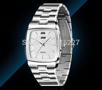 2014 new Style Men's quartz watch top luxury brand stainless steel Strap Men's Sport, Men watches free shipping