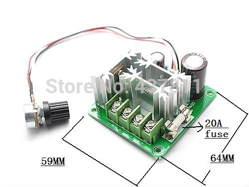 DC Motor Speed Control PWM Controller 6V 12V 24V 36V 40V 60V 90V / 15A 1000W(China (Mainland))