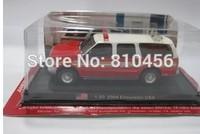 Amer com 1: 64 US Fire truck model fire engine fire pumper car model fire fighting truck scale model free shopping