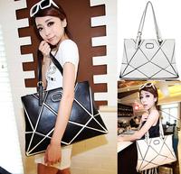 2014 Hot New Women's Fashion Vintage Big Leather Handbags Ladies Casual Travel Totes Designers Brand Purses Female Shopping Bags
