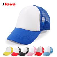 Tlove hat primary school students male female child truck cap logo sun-shading cap mesh cap