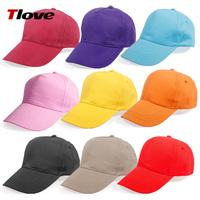 Tlove advertising cap male 100% cotton baseball cap sun-shading logo female summer
