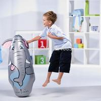"FREE SHIPPING  Sandbags boxing sandbags inflatable Tumbler classic toys ""daruma"" three DESIGN large size 91 cm toys for children"