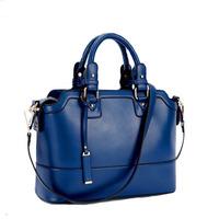 New  bag women handbag 2014 genuine leather composite cowhide OL lady vintage work  female bags fashion shoulder messenger bag