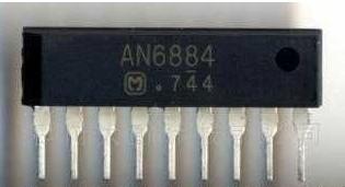 10 PCS AN6884 9-SIP 5-Dot LED Driver Circuit(China (Mainland))
