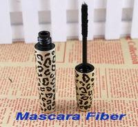 Wholesale,Leopard Mascara Fiber for Lengthening Extension Eyelash Eye Lash ( using with any mascara), 50pcs/lot, free shipping