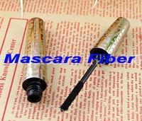 Wholesale,Gold tube Mascara Fiber for Lengthening Extension Eyelash Eye Lash( using with any mascara),50pcs/lot, fredd shipping