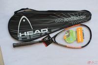squash racket/squash racquet carbon aluminum alloy strung squash rackets colour:orange/blue come with bag