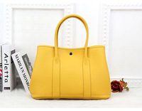 2014 famous Designer brand handbags top quality genuine leather women shoulder bag first layer togo leather golden party tote