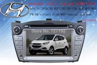 Hot ! Free Shipping Car DVD for Hyundai ix35 TUCSON 2009-2012 with Russian MEMU GPS radio bluetooth TV iPod AM/FM 4gb map camera