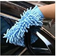 Hot Sale Korean Micro fiber chenille glove clean cloth 53 g cleaning car gloves
