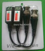 20pcs/lot (10 pair )Twisted Video Balun Passive Transceivers CCTV DVR camera BNC Cat5 UTP Security Video Balun