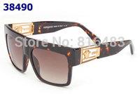 New 2014 fashion designer Brand VE 4378-S SY-11A unisex men sunglasses head eyewear glasses Best quality 3cols free shipping