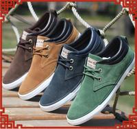 2014 Hot sale New canvas shoes sneakers for men tennis shoe men flat heel casuals men's sneakers shoes plus size 44 wholesale