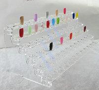Nail Color Chart 72 tips display nail polish Display Nail Gel/polish Color Station Ring shape display