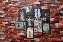 Art Hot vender americano famoso Jack Daniels Tin pub Sign Bar casa decoração da parede do metal Retro Poster artesanato(China (Mainland))