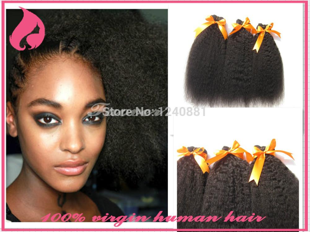Yaki Kinky Hair Weave 55