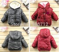 2014 hot selling winter  free shipping Children's clothing POLO winter coat children sport warm  coat boys girls jacket