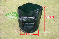 Eco-friendly Waterproof PE potato planter bag grow bag vegetable bag