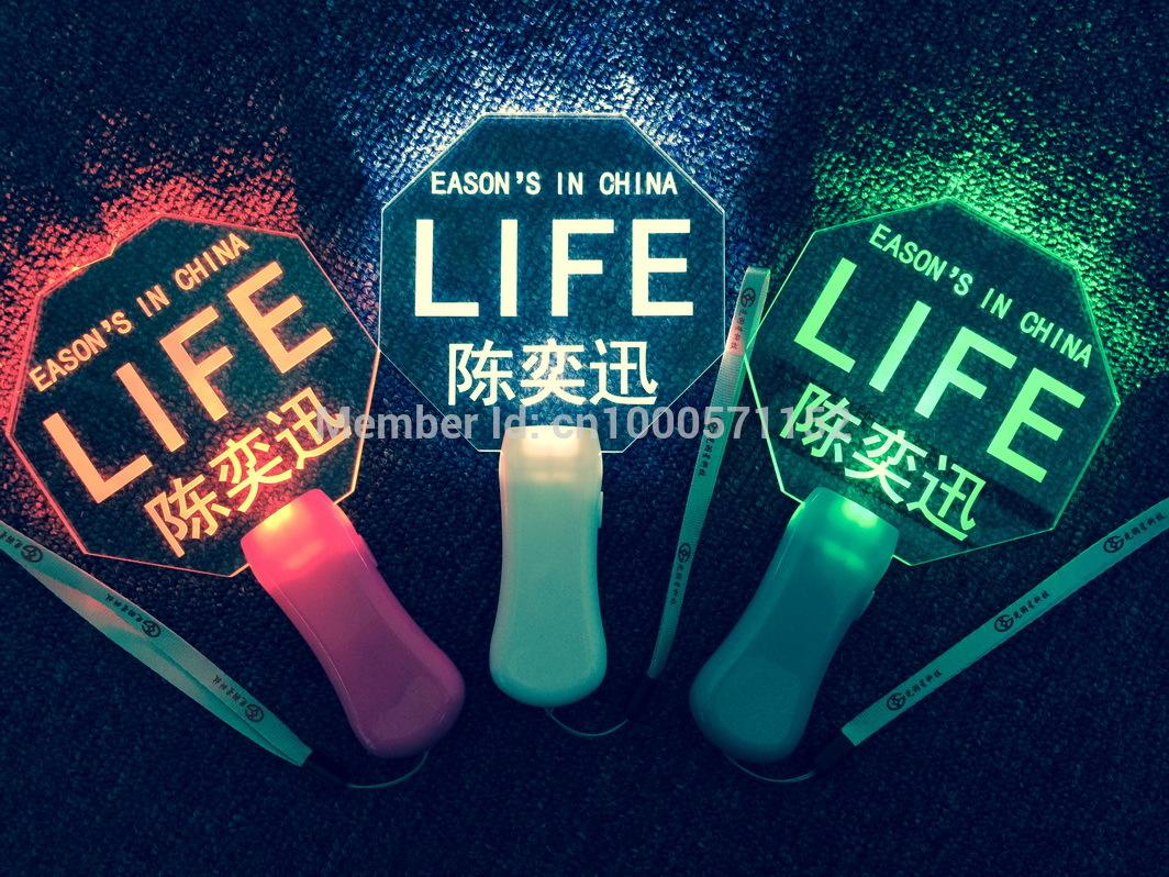 Eason led neon stick glow stick flash stick fans hand lamp concert neon stick(China (Mainland))