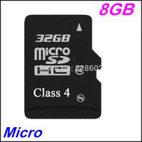 Original brand 100%real capacity Micro SD card 8G memory 2G 4G 8GB class 4 16GB 32GB 64GB micro sd hc card+Free adapter reader
