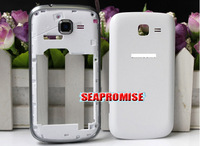 Free shipping wholesale 5pcs lot mobile phone housing for samsung GALAXY Duos S7562i,Trend Duos II S7572