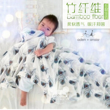 Free shipping Bamboo fibre Aden anais carbasus baby blanket bath towel bed sheets blanket with label no stain(China (Mainland))