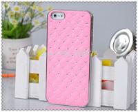 DHL free shipping shinning star Luxury Bling Diamond Plating Skinning Plastic Case for iphone 4G 5G  20pcs/lot