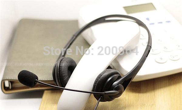 2014 free shipping telephone headsets telephone headset headphone for telephone telephone handset(China (Mainland))