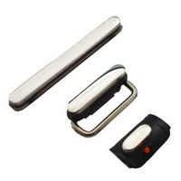 Volume Button With White Mute Control Key With Power Sleep Button for 3G