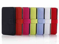 New arrival Luxury PU leather case for samsung galaxy s5 i9600,G900 cover,card holder,stand function,free shipping
