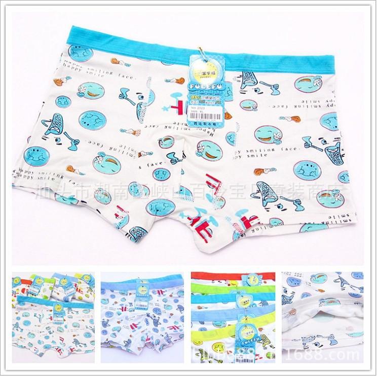Children's underwear wholesale /underwear boy/ boys boxer shorts/children' panties/underwear kids/underwear children(China (Mainland))