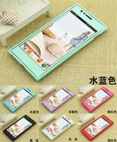 10pcs  Lenovo K900 mobile phone protective silicon pudding case + colorful screen protector + Free shipping