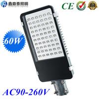 Wholesale AC85-265V 60W LED Street Lights IP65 Bridgelux 130LM/W LED led street light 2 year warranty