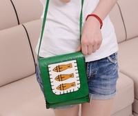 2014 Promotion New Freeshipping Solid Pu Zipper Women Leather Handbags Moire Women Clutch Messenger Bag2014 Women's Bags