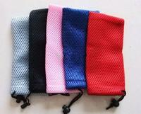 Factory direct sales, glasses bag, net cloth glasses bag,sunglasses bag